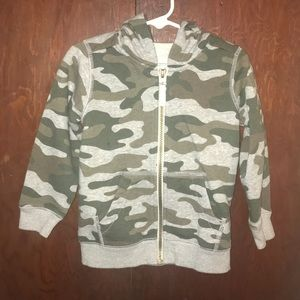 Toddler Boys Carter's Camo Sweatshirt